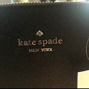 NWT Kate Spade Joeley GLITTER purse